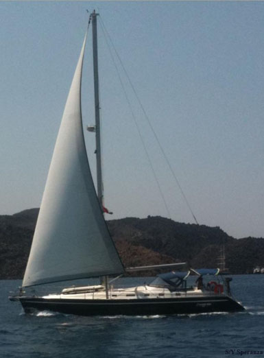 Charter Sailing Yacht Greece